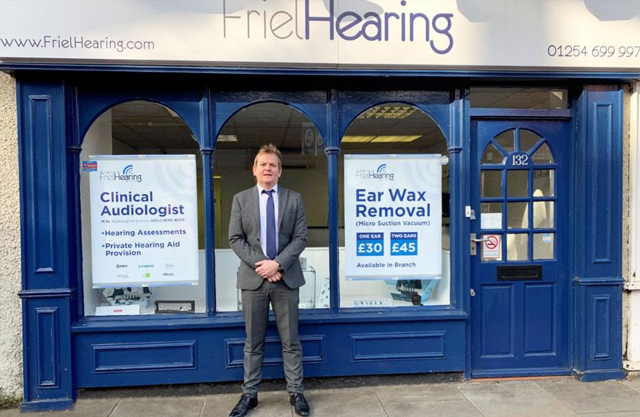 Friel Hearing Services clinic Lancashire