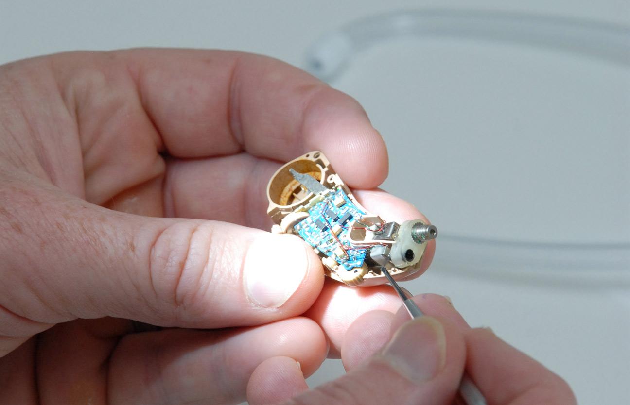 hearing aid servicing